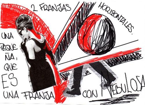 Dos franjas horizontales