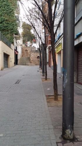 Calle la Creu, Rubí (Barcelona)_calle entera